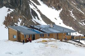 3 collecteurs Sunwind au refuge du PRESSET – Massif du Beaufortain